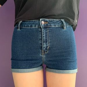 High-Waisted Jean Shorts | H&M